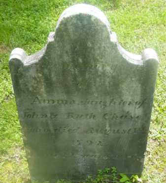CHASE, ANNA - Berkshire County, Massachusetts   ANNA CHASE - Massachusetts Gravestone Photos