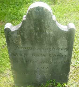 CHASE, ANNA - Berkshire County, Massachusetts | ANNA CHASE - Massachusetts Gravestone Photos