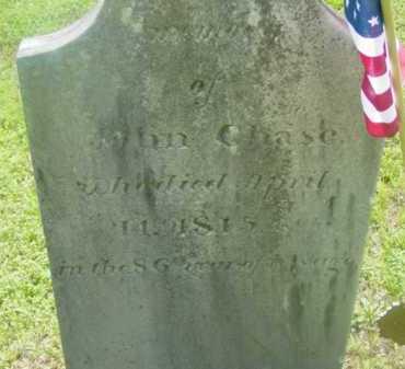 CHASE (RW), JOHN - Berkshire County, Massachusetts | JOHN CHASE (RW) - Massachusetts Gravestone Photos