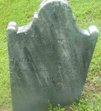 CHASE, LILLIS - Berkshire County, Massachusetts | LILLIS CHASE - Massachusetts Gravestone Photos
