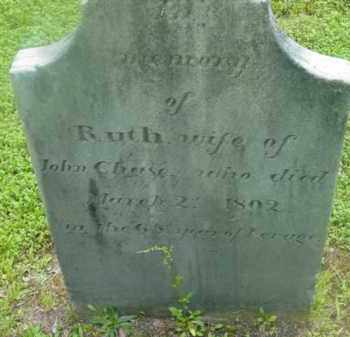 CHASE, RUTH - Berkshire County, Massachusetts | RUTH CHASE - Massachusetts Gravestone Photos