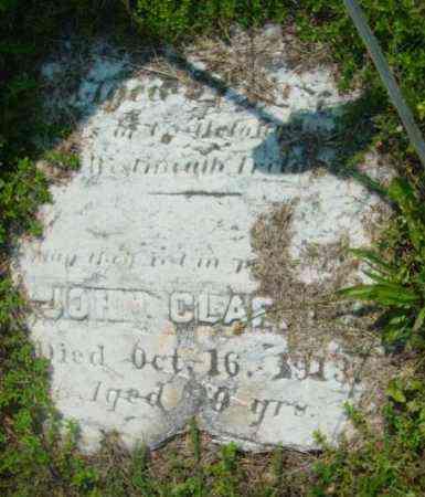 CLAFFIE, JOHN - Berkshire County, Massachusetts | JOHN CLAFFIE - Massachusetts Gravestone Photos
