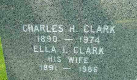 CLARK, CHARLES HARRISON - Berkshire County, Massachusetts | CHARLES HARRISON CLARK - Massachusetts Gravestone Photos