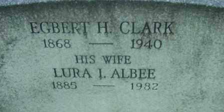 CLARK, EGBERT H - Berkshire County, Massachusetts   EGBERT H CLARK - Massachusetts Gravestone Photos