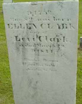 CLARK, ELLEN - Berkshire County, Massachusetts | ELLEN CLARK - Massachusetts Gravestone Photos