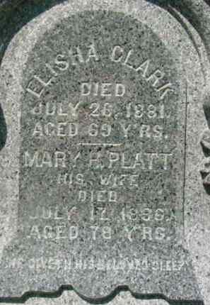 CLARK, MARY H - Berkshire County, Massachusetts | MARY H CLARK - Massachusetts Gravestone Photos