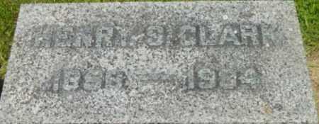 CLARK, HENRY S - Berkshire County, Massachusetts | HENRY S CLARK - Massachusetts Gravestone Photos
