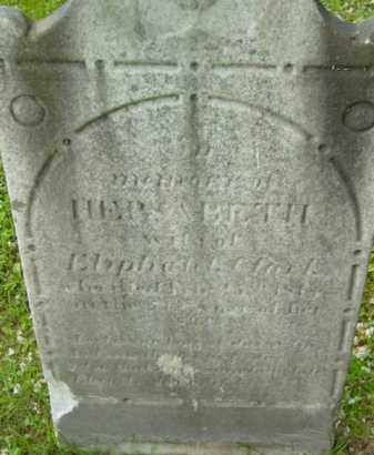 CLARK, HEPSABETH - Berkshire County, Massachusetts | HEPSABETH CLARK - Massachusetts Gravestone Photos