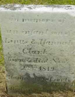 CLARK, INFANT - Berkshire County, Massachusetts | INFANT CLARK - Massachusetts Gravestone Photos
