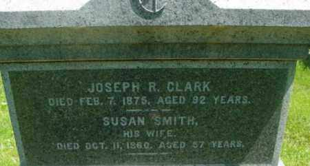 CLARK, JOSEPH R - Berkshire County, Massachusetts | JOSEPH R CLARK - Massachusetts Gravestone Photos