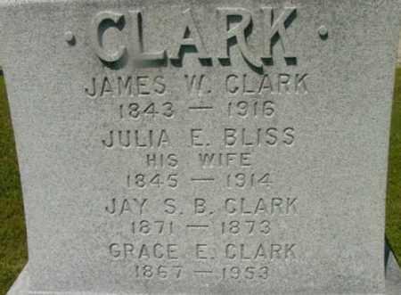 CLARK, GRACE E - Berkshire County, Massachusetts | GRACE E CLARK - Massachusetts Gravestone Photos