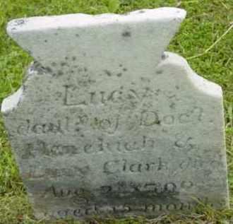 CLARK, LUCY - Berkshire County, Massachusetts | LUCY CLARK - Massachusetts Gravestone Photos