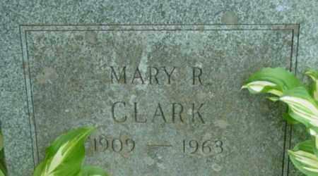 CLARK, MARY R - Berkshire County, Massachusetts | MARY R CLARK - Massachusetts Gravestone Photos