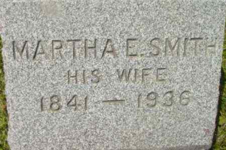 SMITH, MARTHA E - Berkshire County, Massachusetts | MARTHA E SMITH - Massachusetts Gravestone Photos