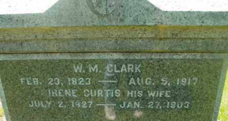CLARK, IRENE - Berkshire County, Massachusetts | IRENE CLARK - Massachusetts Gravestone Photos