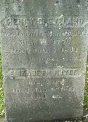 CLEVELAND (RW), HENRY - Berkshire County, Massachusetts | HENRY CLEVELAND (RW) - Massachusetts Gravestone Photos