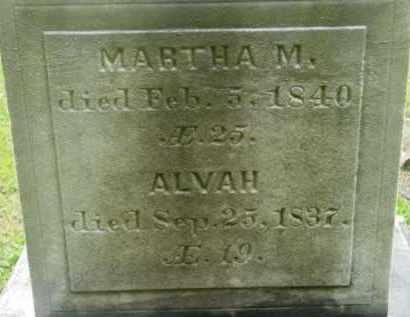 CLEVELAND, MARTHA M - Berkshire County, Massachusetts | MARTHA M CLEVELAND - Massachusetts Gravestone Photos