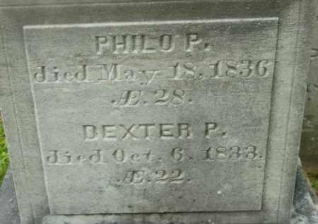 CLEVELAND, DEXTER P - Berkshire County, Massachusetts | DEXTER P CLEVELAND - Massachusetts Gravestone Photos