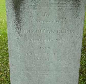 CLEVELAND, WILLIAM - Berkshire County, Massachusetts | WILLIAM CLEVELAND - Massachusetts Gravestone Photos