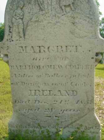 COLBERT, MARGRET - Berkshire County, Massachusetts | MARGRET COLBERT - Massachusetts Gravestone Photos