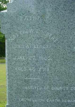 COLBERT, MATTHEW - Berkshire County, Massachusetts   MATTHEW COLBERT - Massachusetts Gravestone Photos