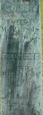 COLE, FRANCES C - Berkshire County, Massachusetts | FRANCES C COLE - Massachusetts Gravestone Photos