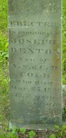 COLE, JOSEPH BENTON - Berkshire County, Massachusetts | JOSEPH BENTON COLE - Massachusetts Gravestone Photos