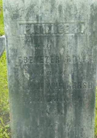COLE, PATIENCE - Berkshire County, Massachusetts | PATIENCE COLE - Massachusetts Gravestone Photos