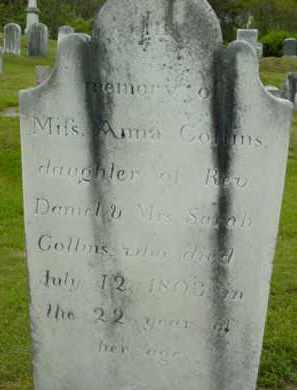 COLLINS, ANNA - Berkshire County, Massachusetts | ANNA COLLINS - Massachusetts Gravestone Photos