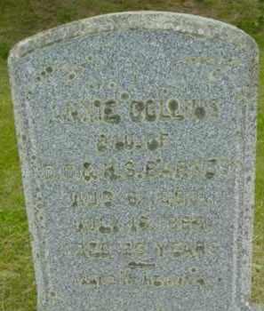 COLLINS, ANNIE - Berkshire County, Massachusetts | ANNIE COLLINS - Massachusetts Gravestone Photos