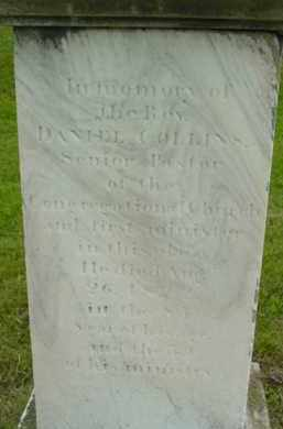 COLLINS, DANIEL - Berkshire County, Massachusetts   DANIEL COLLINS - Massachusetts Gravestone Photos
