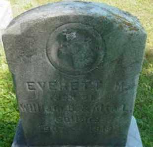 COLLINS, EVERETT M - Berkshire County, Massachusetts   EVERETT M COLLINS - Massachusetts Gravestone Photos