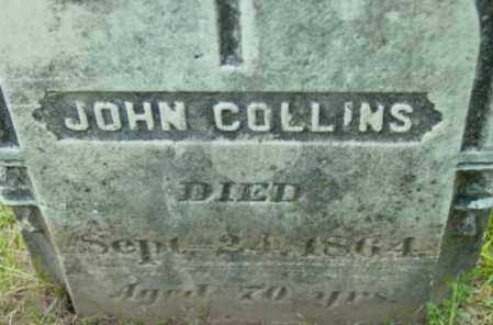 COLLINS, JOHN - Berkshire County, Massachusetts | JOHN COLLINS - Massachusetts Gravestone Photos
