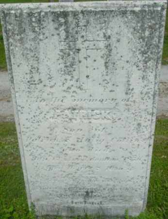 COLLINS, PATRICK - Berkshire County, Massachusetts | PATRICK COLLINS - Massachusetts Gravestone Photos