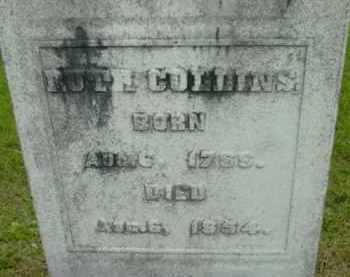 COLLINS, RUTH - Berkshire County, Massachusetts   RUTH COLLINS - Massachusetts Gravestone Photos