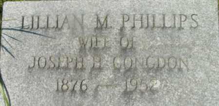 PHILLIPS, LILLIAN M - Berkshire County, Massachusetts | LILLIAN M PHILLIPS - Massachusetts Gravestone Photos