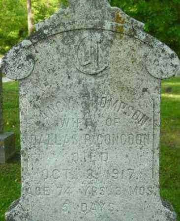 THOMPSON, NANCY - Berkshire County, Massachusetts | NANCY THOMPSON - Massachusetts Gravestone Photos