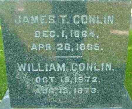 CONLIN, JAMES T - Berkshire County, Massachusetts | JAMES T CONLIN - Massachusetts Gravestone Photos