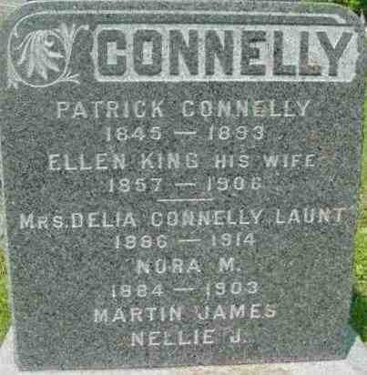 CONNELLY, DELIA - Berkshire County, Massachusetts | DELIA CONNELLY - Massachusetts Gravestone Photos