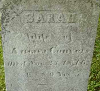 CONVERS, SARAH - Berkshire County, Massachusetts | SARAH CONVERS - Massachusetts Gravestone Photos