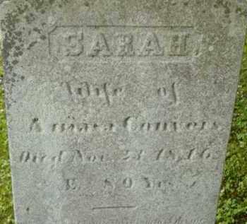 CONVERS, SARAH - Berkshire County, Massachusetts | SARAH CONVERS - Massachusetts Gravestone Photos
