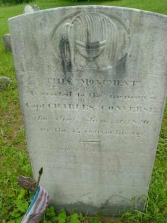 CONVERSE (1812), CHARLES - Berkshire County, Massachusetts   CHARLES CONVERSE (1812) - Massachusetts Gravestone Photos
