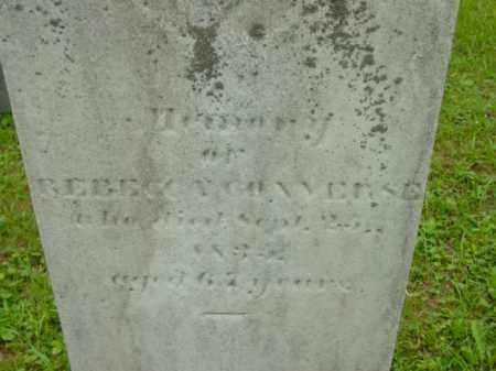 CONVERSE, REBECCA - Berkshire County, Massachusetts | REBECCA CONVERSE - Massachusetts Gravestone Photos