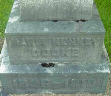 COOKE, MARIA KENNEY - Berkshire County, Massachusetts | MARIA KENNEY COOKE - Massachusetts Gravestone Photos
