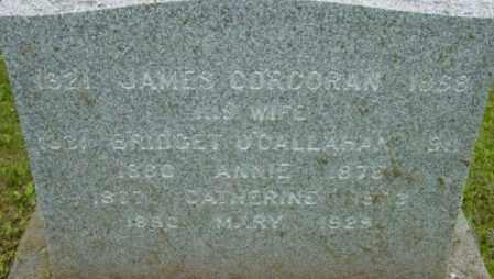 CORCORAN, JAMES - Berkshire County, Massachusetts | JAMES CORCORAN - Massachusetts Gravestone Photos