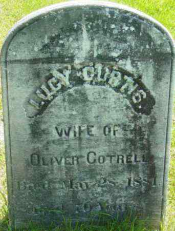 CURTIS, LUCY - Berkshire County, Massachusetts | LUCY CURTIS - Massachusetts Gravestone Photos