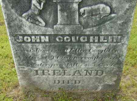 COUGHLIN, JOHN - Berkshire County, Massachusetts | JOHN COUGHLIN - Massachusetts Gravestone Photos