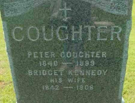 COUGHTER, BRIDGET - Berkshire County, Massachusetts | BRIDGET COUGHTER - Massachusetts Gravestone Photos