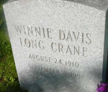 DAVIS, WINNIE - Berkshire County, Massachusetts | WINNIE DAVIS - Massachusetts Gravestone Photos