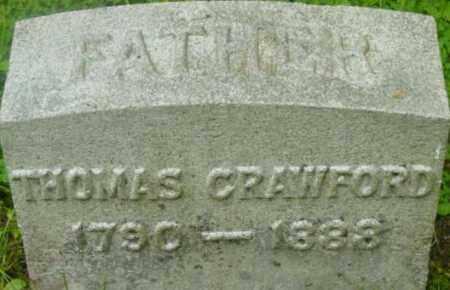 CRAWFORD, THOMAS - Berkshire County, Massachusetts | THOMAS CRAWFORD - Massachusetts Gravestone Photos